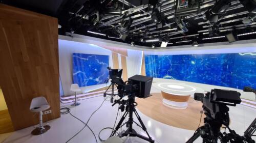 Телестудия для телеканала Украина 24 (2)
